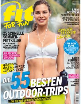 FIT FOR FUN - aktuelle Ausgabe 09/2016