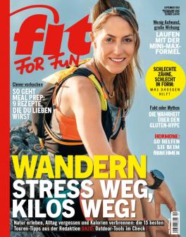 FIT FOR FUN - aktuelle Ausgabe 09/2018