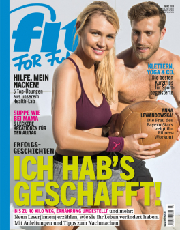 FIT FOR FUN - aktuelle Ausgabe 02/2019
