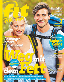 FIT FOR FUN - aktuelle Ausgabe 09/2019