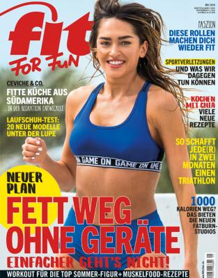 FIT FOR FUN - aktuelle Ausgabe 05/2018
