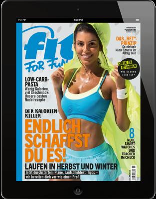 FIT FOR FUN E-Paper - aktuelle Ausgabe 11/2018