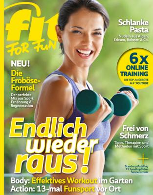 FIT FOR FUN - aktuelle Ausgabe 06/2020