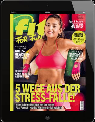 FIT FOR FUN E-Paper - aktuelle Ausgabe 12/2018