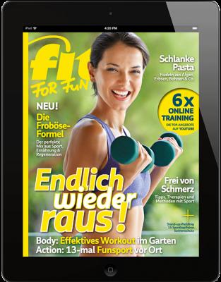 FIT FOR FUN E-Paper - aktuelle Ausgabe 04/2020