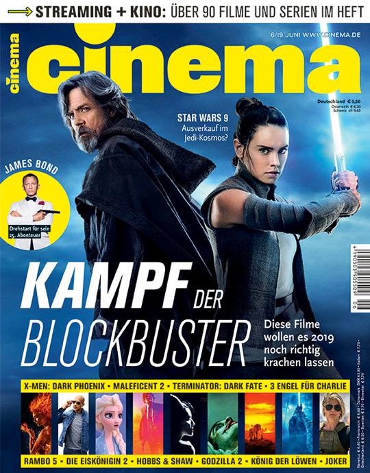 CINEMA - aktuelle Ausgabe 06/2019