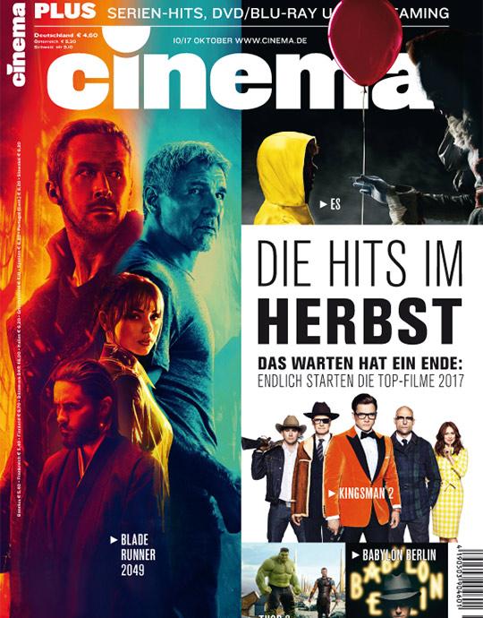 Cinema Zeitschrift Aktuelle Ausgabe
