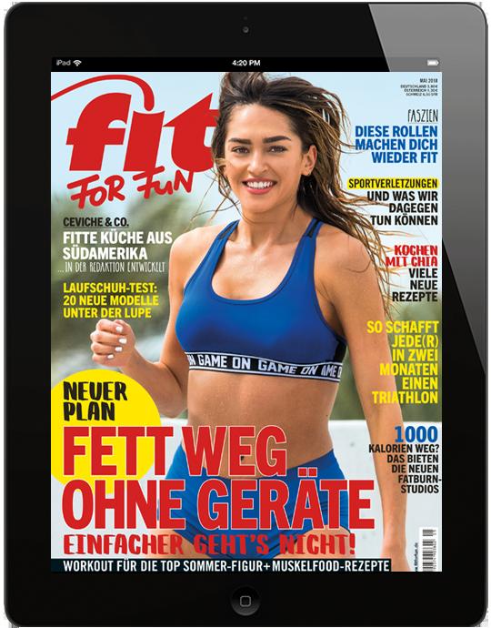FIT FOR FUN E-Paper - aktuelle Ausgabe 04/2018