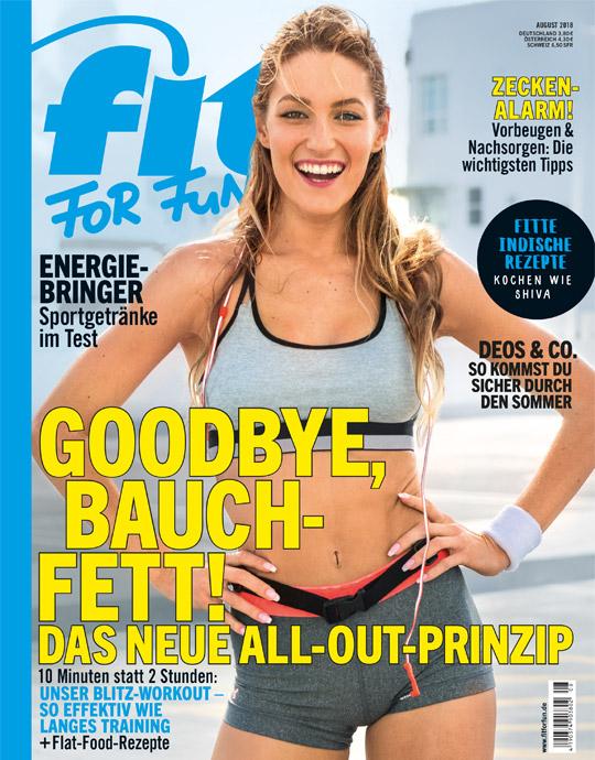 FIT FOR FUN - aktuelle Ausgabe 08/2018