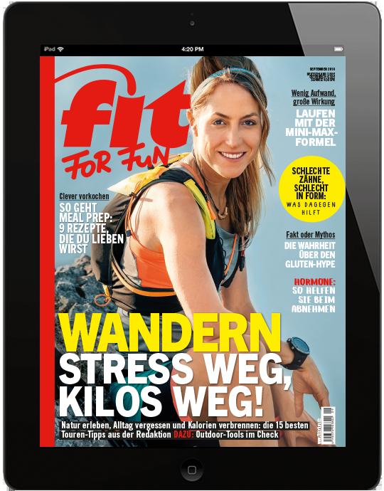 FIT FOR FUN E-Paper - aktuelle Ausgabe 09/2018