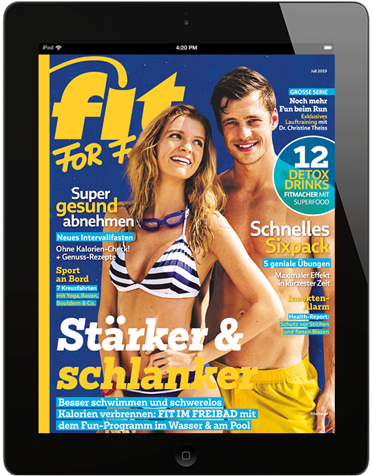 FIT FOR FUN E-Paper - aktuelle Ausgabe 07/2019