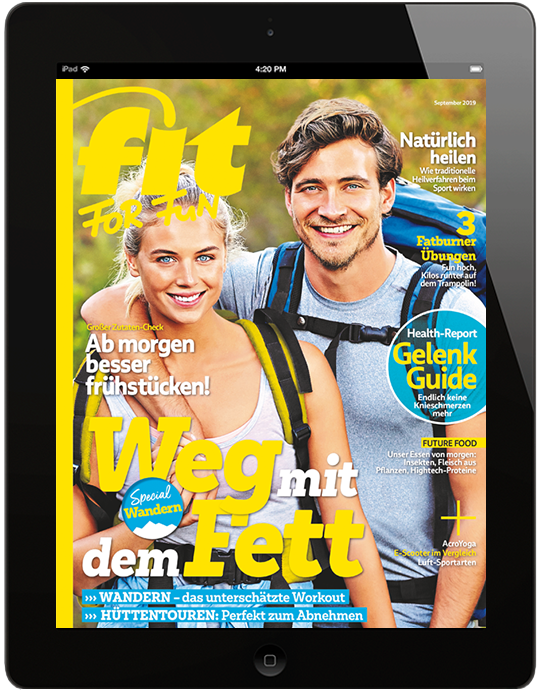 FIT FOR FUN E-Paper - aktuelle Ausgabe 09/2019