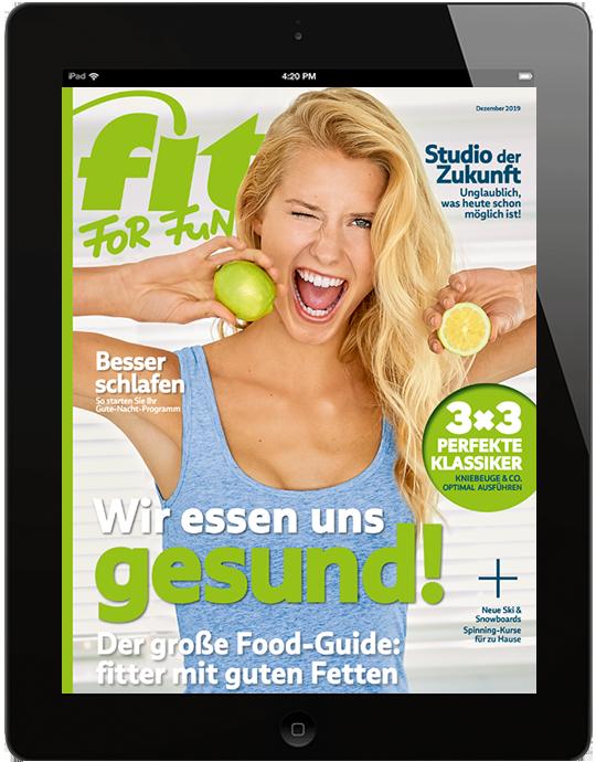 FIT FOR FUN E-Paper - aktuelle Ausgabe 12/2019